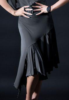 Santoria Nomikos Latin Dance Skirt S6091| Dancesport Fashion @ DanceShopper.com