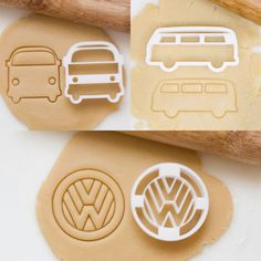 VW Bus Cookie Cutter by HomePrint3D on Etsy