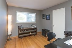 With four bedrooms total, there's plenty of room for a home office, crafts room, or guests.