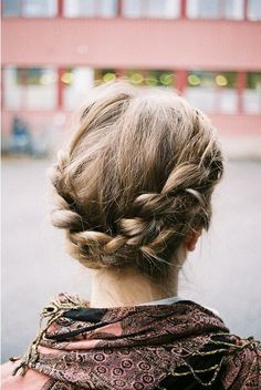 Fairytale Hairstyles: Fall in love with Braided Hair! • Adoreness