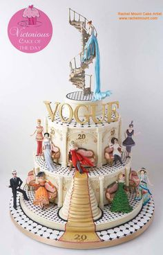 A London Bakery made this cake...........