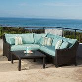Found it at Wayfair - Bliss 4 Piece Deep Seating Group with Cushions