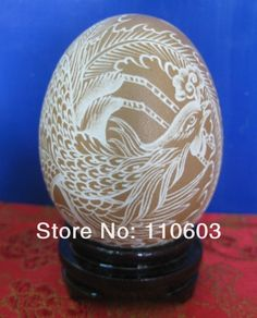 Designs for Egg Carving Art | Free shipping eggshell sculpture / egg shell carving,hand made unique ...