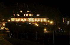 Haus Namenlos: Blick vom Strandübergang. Fotografiert von Paul vom Walde nach Dienstschluss. Danke, Paul ;-)