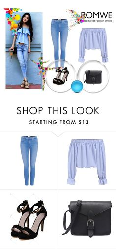 """""""Romwe 2/VI"""" by nermina-okanovic ❤ liked on Polyvore featuring Paige Denim and romwe"""