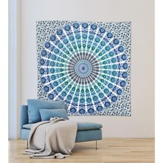 WallPOPs 84.64 in. x 92.52 in. Loni Wall Tapestry-WPT2282 - The Home Depot