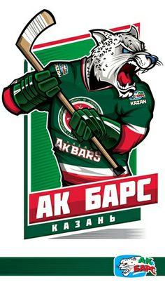 100%™ KHL Kazan Ak-Bars Nhl Logos, Hockey Logos, Hockey Teams, Ice Hockey, Sports Logos, Sports Teams, Kontinental Hockey League, Hockey World, Nfl