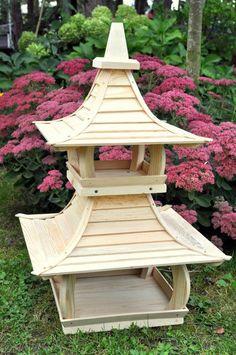 The BEST Bird Table Bird Feeder Japanese Garden Style - EXCLUSIVE !!   eBay