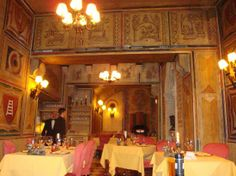 Ristorante #12 Apostoli #Verona: the first on the right was the #Hemingway table