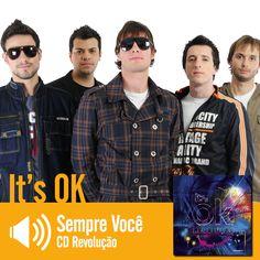"""Escute a música """"Sempre você"""" do CD Revolução do It's Ok: http://www.onimusic.com.br/player/player.aspx?IdMusica=814&utm_campaign=musicas-oni&utm_medium=post&utm_source=pinterest&utm_content=sempre-voce-trecho-player"""