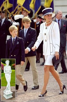 Prince William and Prince Harry commission Diana statue