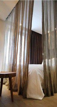 mosquito net curtain...