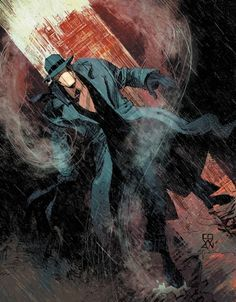 The Question: The Deaths of Vic Sage #1 - Denys Cowan (pencils), Bill Sienkiewicz (inks), and Chris Sotomayor (colors)