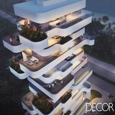 Best Modern Apartment Architecture Design 20 image is part of 80 Best Modern Apartment Architecture Design 2017 gallery, you can read and see another amazing image 80 Best Modern Apartment Architecture Design 2017 on website Cantilever Architecture, Hotel Design Architecture, Organic Architecture, Design Hotel, Futuristic Architecture, Residential Architecture, Amazing Architecture, Contemporary Architecture, Residential Building Design
