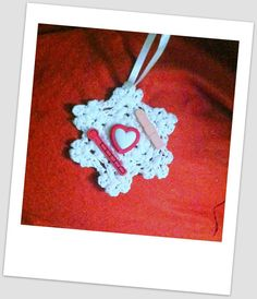 Nurse Christmas Ornament Handmade Crochet by HaldaneCreations