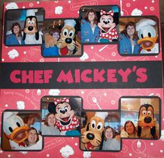 Chef Mickey's Page 2 of 2 - Scrapbook.com