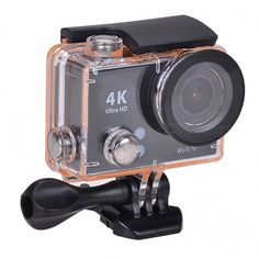 """UHD 2"""" LCD 12MP 1080P / 60fps Wi-Fi Waterproof Action Camera - Black - Free Shipping - DealExtreme Smartwatch, Apple Technology, Cool Gadgets, Gopro, Espresso Machine, Wi Fi, Coffee Maker, Action, Free Shipping"""