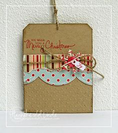 SCRAPS-N-STUFF: Christmas Tags....