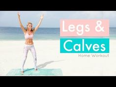If you want your calves to be toned, tight, and sexy you need specific exercises to get you there. Here's the best 10 minute toned calves workout. Tone Calves, Slim Calves, Fitness Workouts, Song Workouts, Cheer Workouts, Morning Workouts, Butt Workouts, Leg Workout At Home, At Home Workouts