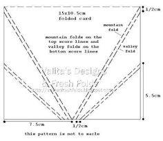 Valita's Designs & Fresh Folds: Folded Card Front / video tutorial