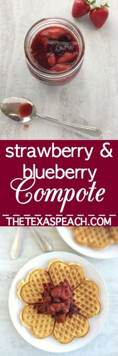 Strawberry-Blueberry Compote