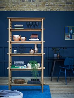 Ercol Originals Teramo Shelving Unit | Add a retro-inspired mid century modern look to your home with these simple but stylish shelves.