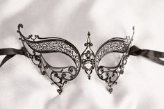 Masquerade Masks - Venetian Ball Masks - Filigree Metal Masks