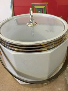 Retro Ice Bucket Bar Ware Entertaining by PineStreetPickers