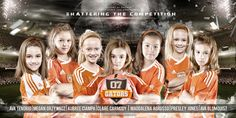 Soccer Team_Team Pictures_Sports_Cindi Jones Photography_JonesPhotography_Sports Banner_Softball Banner_Baseball Banner_Team Pictures_Softball Posters_Sports Posters_Softball Team Pictures_Macomb County Photographer_Sterling Heights Photographer_Sports Photographer_Gators 07 Orange Team and Player Portraits