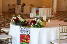 Traditional romanian wedding decor