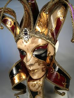 Venetian Masquerade Masks | Mask venetian-mask-joker-jolly_P7082784-0.jpg