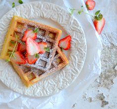 Waffles de cenoura e especiarias | SAPO Lifestyle