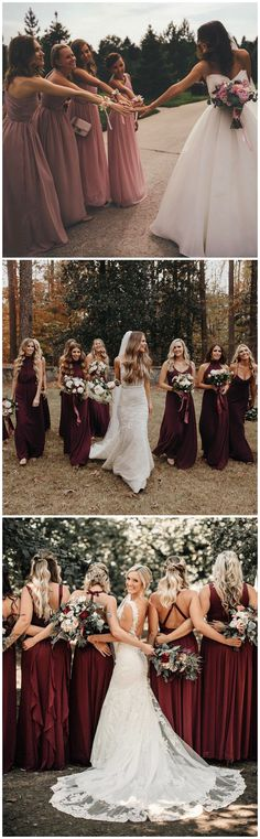 Bridesmaids wedding photo ideas #weddings #bridesmaid #weddingphotos #weddingideas #dresses