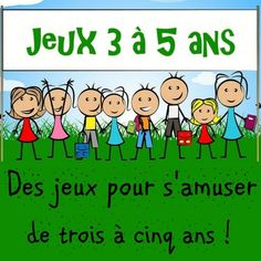 Kindergarten games for fun from three to five years! Babysitting Activities, Activities For Kids, Diy For Kids, Crafts For Kids, Games For Fun, Kindergarten Games, French Lessons, I School, Kids And Parenting