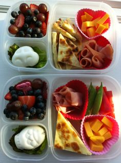 Shapes Bento with Naan!