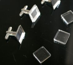 20 pcs Combo 5 pairs 16mm Silver Plated Brass by discountbeads