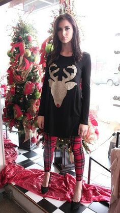 The Reindeer Tunic - BubbaJane's Boutique