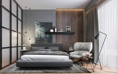 How to make a bedroom cozy tips from the design? Modern Luxury Bedroom, Luxury Bedroom Design, Modern Master Bedroom, Master Bedroom Design, Contemporary Bedroom, Luxurious Bedrooms, Home Bedroom, Home Interior Design, Bedroom Decor