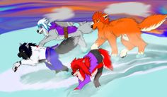 Band on the Run (Team Taka) by PurpleAlphaWolf on DeviantArt