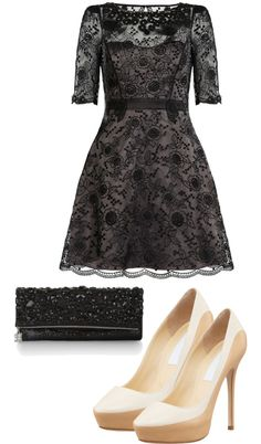 """""""Christmas Party Outfit 2012 {Fancy}"""" by annaxoxx on Polyvore"""