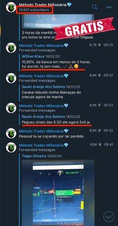 método trader milionário
