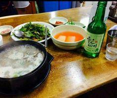 #순대국밥