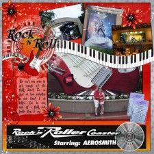 Rock n Roller Coaster - MouseScrappers - Disney Scrapbooking Gallery