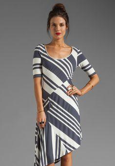 HEATHER Asymmetrical Dress