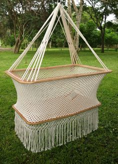 Bassinet Macrame by DesignHammock on Etsy