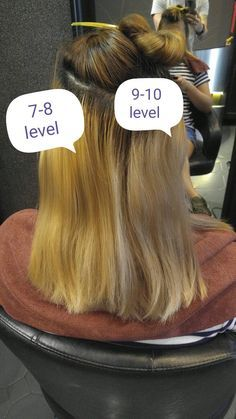 You must pre-lighten your hair to level in order to get rid of brassy tones – hair color blonde Tone Yellow Hair, Yellow Blonde Hair, Green Hair, Brassy Blonde, Brassy Hair, Toner For Orange Hair, Brown Hair Pictures, Cheveux Oranges, Bleaching Your Hair