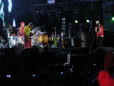 Red Hot Chili Peppers. Esse click rolou no Rock in Rio 2011. Uma das noites especiais.