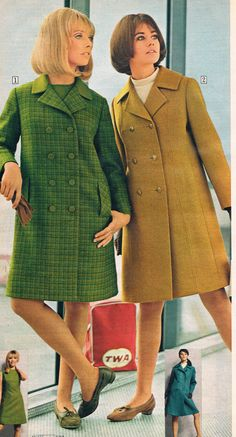 Sears catalog 1967.  Cay Sanderson and Colleen Corby.