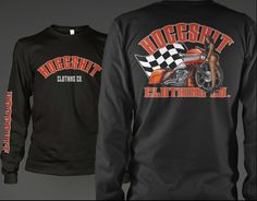 cfa82afb HoggShit Clothing Co. Long sleeve tshirts for the harley Davidson riders!  Www.bhrgear.com custom artwork with models of color!