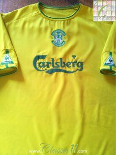 54963cd91 Relive Hibernian s 2003 2004 season with this vintage Le Coq Sportif away  football shirt.